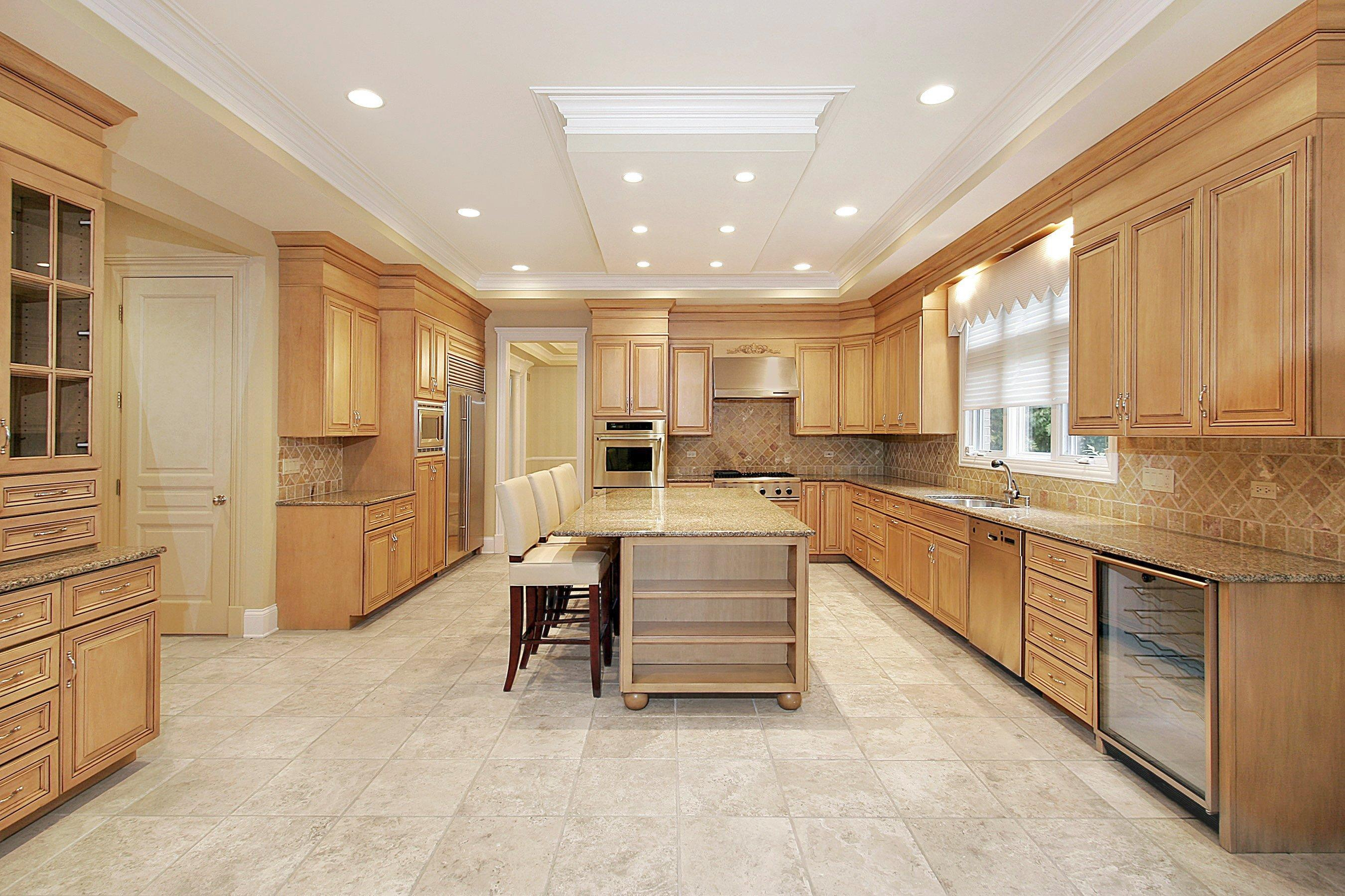 Travertine Tile For Kitchen Travertine Tile Kitchen Floor Kitchen Backsplash Pictures