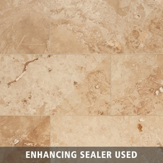 Antique Bergamo Travertine Tile