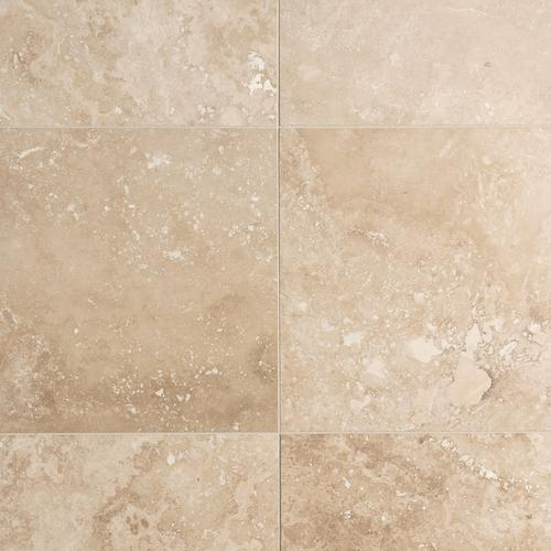 Caria Light Honed Travertine Tile - 18in. x 18in. - 922101101 | Floor and  Decor