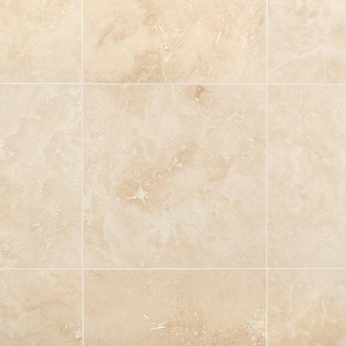 Troia Light Honed Travertine Tile 18 X 18 922101119 Floor And