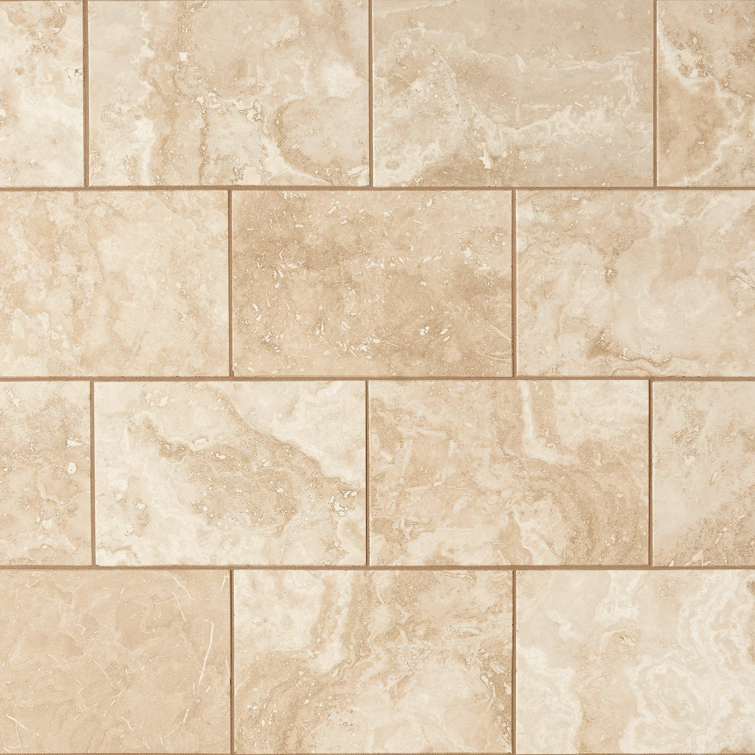 perla beige polished travertine tile 8in x 12in floor and decor
