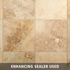 Antique Parma Brushed Travertine Tile
