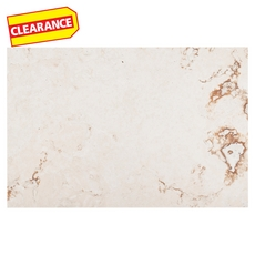 Clearance! Cote D Azur Onyx Brushed Travertine Tile
