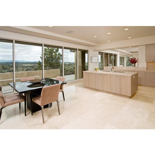 Savona Ivory Honed Travertine Tile 18 X 18 922199022 Floor And