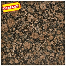 Clearance! Baltic Brown Granite Tile