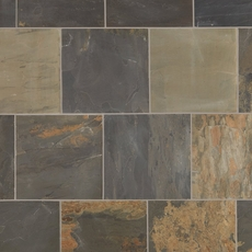 Indian Multicolor Slate Tile