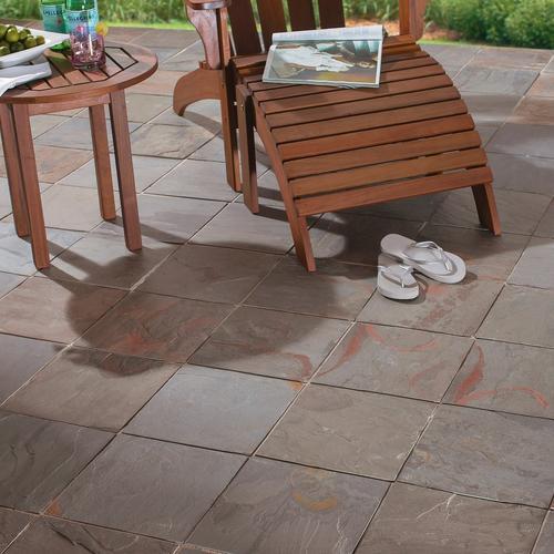 Virginia Spring Slate Tile - 12 x 12 - 924107705   Floor and