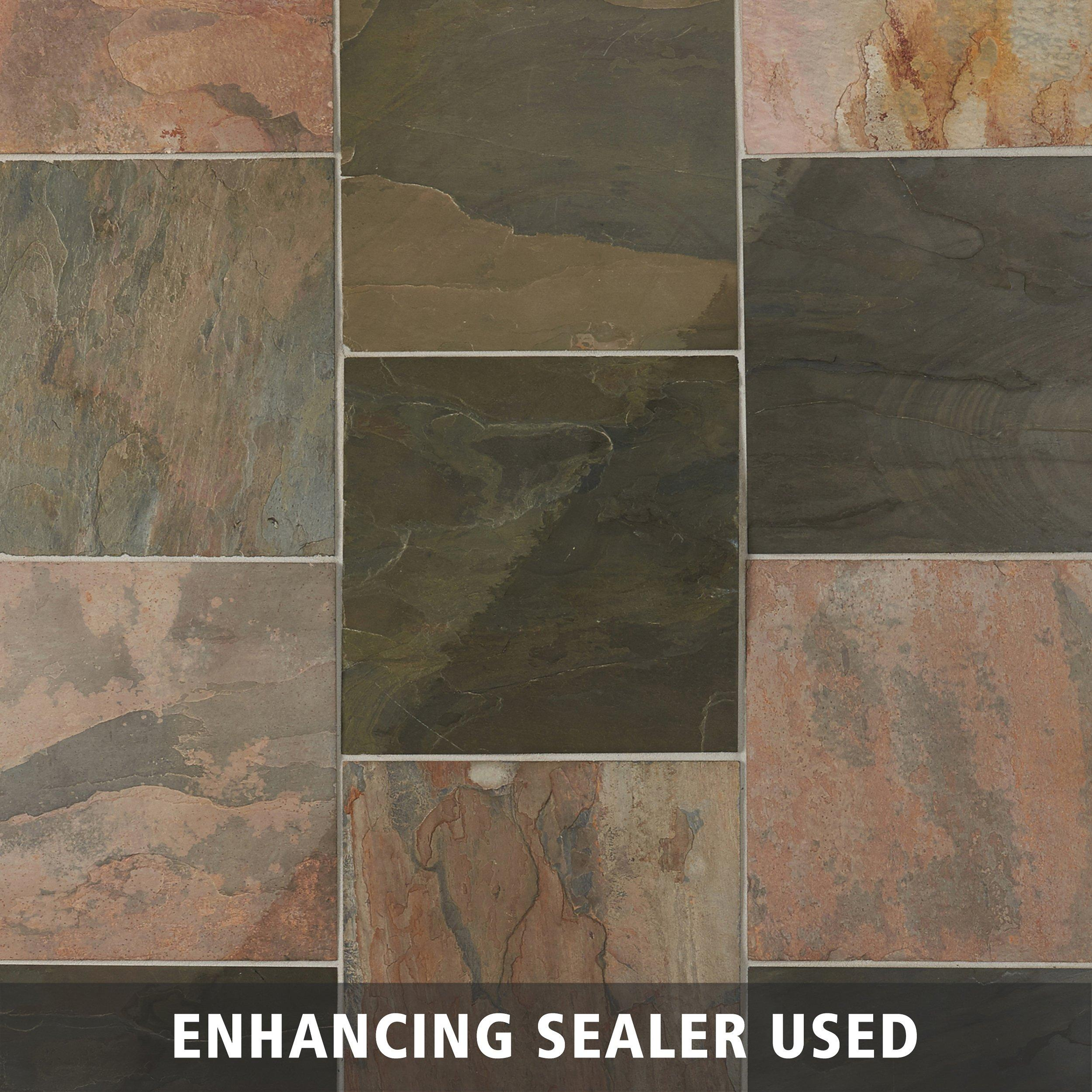 Virginia Spring Slate Tile   12in. X 12in.   924107705 | Floor And Decor