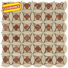 Clearance! Soho Deco Lola Marble Mosaic