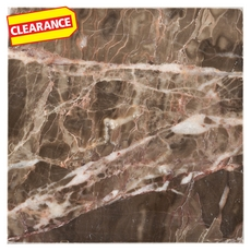 Clearance! Emperador Cafe Polished Marble Tile