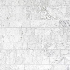 Bianco Carrara Polished Marble Wall Tile