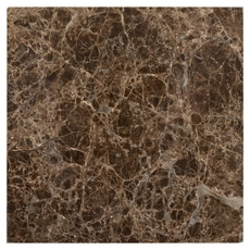 Dark Emperador Polished Marble Wall Tile