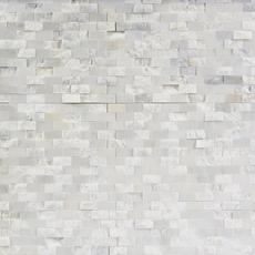 Valentino Carrara Brick Marble Mosaic