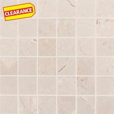Clearance! Crema Marfil Marble Mosaic