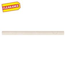 Clearance! Crema Marfil Polished Marble Pencil