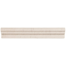 Crema Marfil Polished Marble Chair Rail