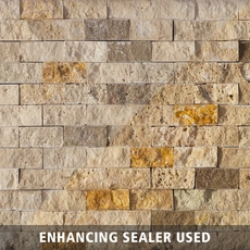 Mix Brick Travertine Mosaic