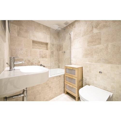 travertine bathroom. Click to zoom Crema Antiqua Tumbled Travertine Mosaic  12 x 932100547