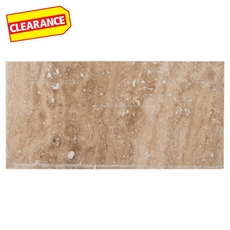 Clearance! Caramelo Honed Travertine Tile
