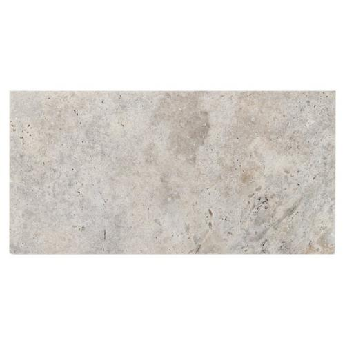 Travertine Tile Pictures argento brushed travertine tile - 3in. x 6in. - 932100667 | floor