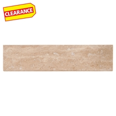 Clearance! Caramelo Honed Travertine Bullnose