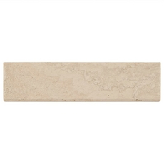 Cote D Azur Brushed Travertine Bullnose