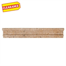Clearance! Noce Travertine Crown Molding
