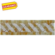 Clearance! Tuscan Onyx Marble Border
