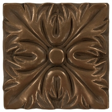 Metallic Bronze Resin Decorative Insert