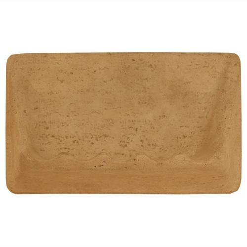 Light Beige Decorative Soap Dish - 4 3/4 x 8 - 935200305 | Floor and ...