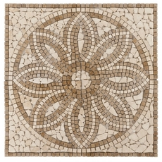 Florentine Travertine Medallion