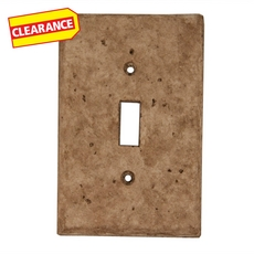 Clearance! Noce Decorative Resin Single Toggle Switch Plate