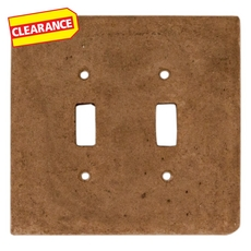 Clearance! Noce Decorative Resin Double Toggle Switch Plate
