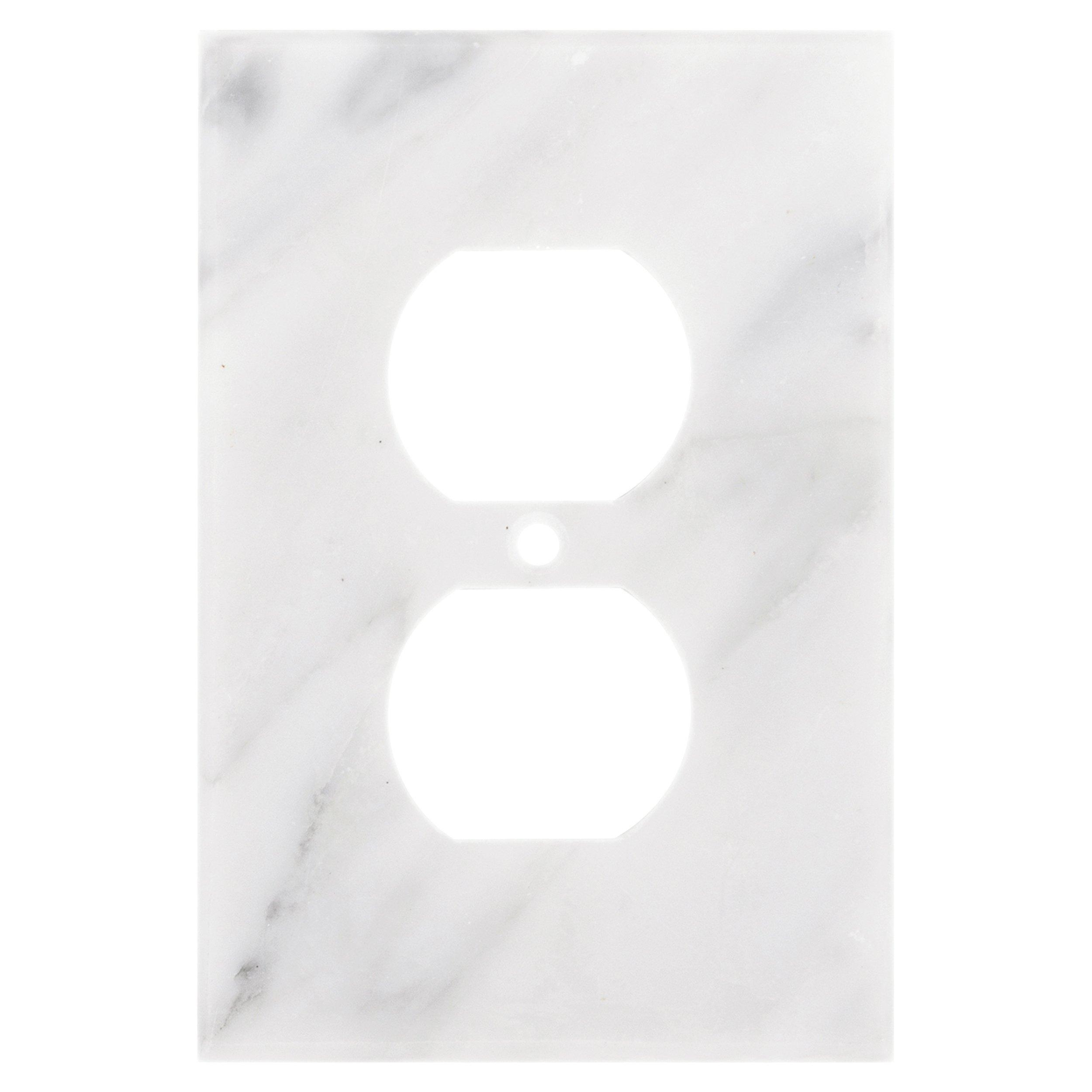 Carrara White Marble Outlet Plate   3in. X 5in.   935800011   Floor And  Decor