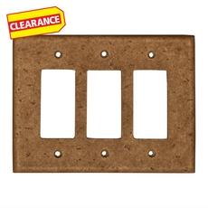 Clearance! Noce Decorative Resin Triple Rocker Plate