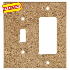 Clearance! Noce Travertine Combination Switch Plate