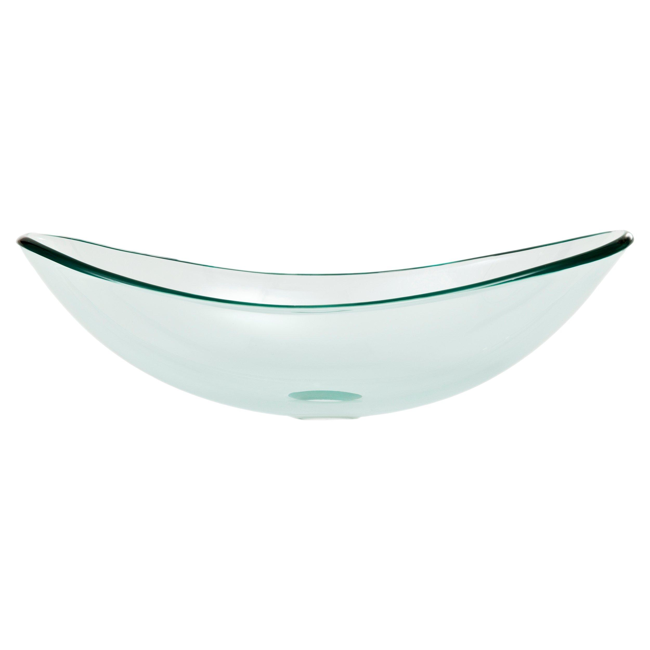 Superieur Oval Glass Vessel Sink