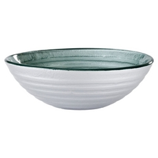 Round Glass Decorative Vessel Sink