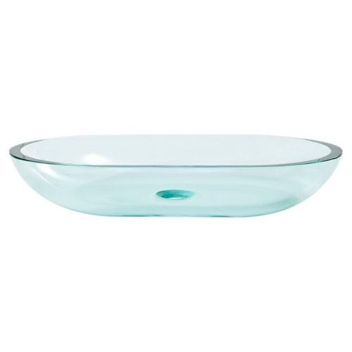 Square Basin Glass Vessel Sink 23 X 14 937400126 Floor And