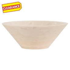 Clearance! Ivory Vessel Travertine Sink