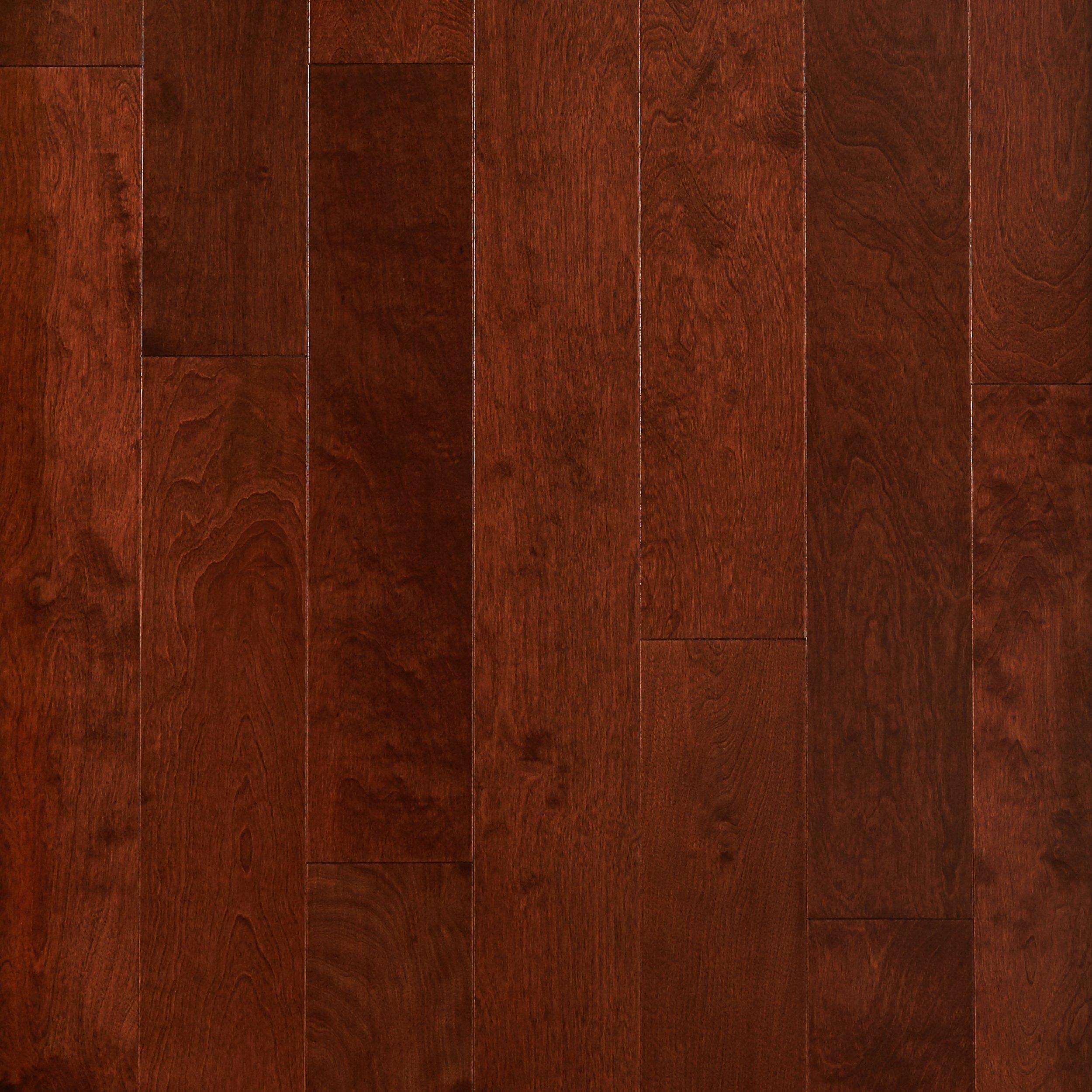Amazing Cherry Birch Smooth Engineered Hardwood   3/8in. X 5in.   941200106 | Floor  And Decor