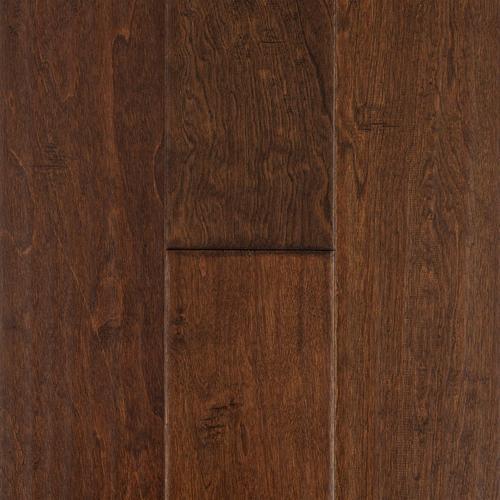 Walnut Birch Hand Scraped Engineered Hardwood 12in X 6 12in