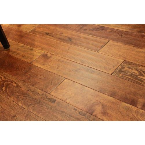 Hand Scraped Engineered Hardwood Flooring millstead hand scraped maple nutmeg 12 in thick x 5 in wide x random length engineered hardwood flooring 31 sq ft case pf9606 the home depot Hand Scraped Engineered Hardwood Click To Zoom