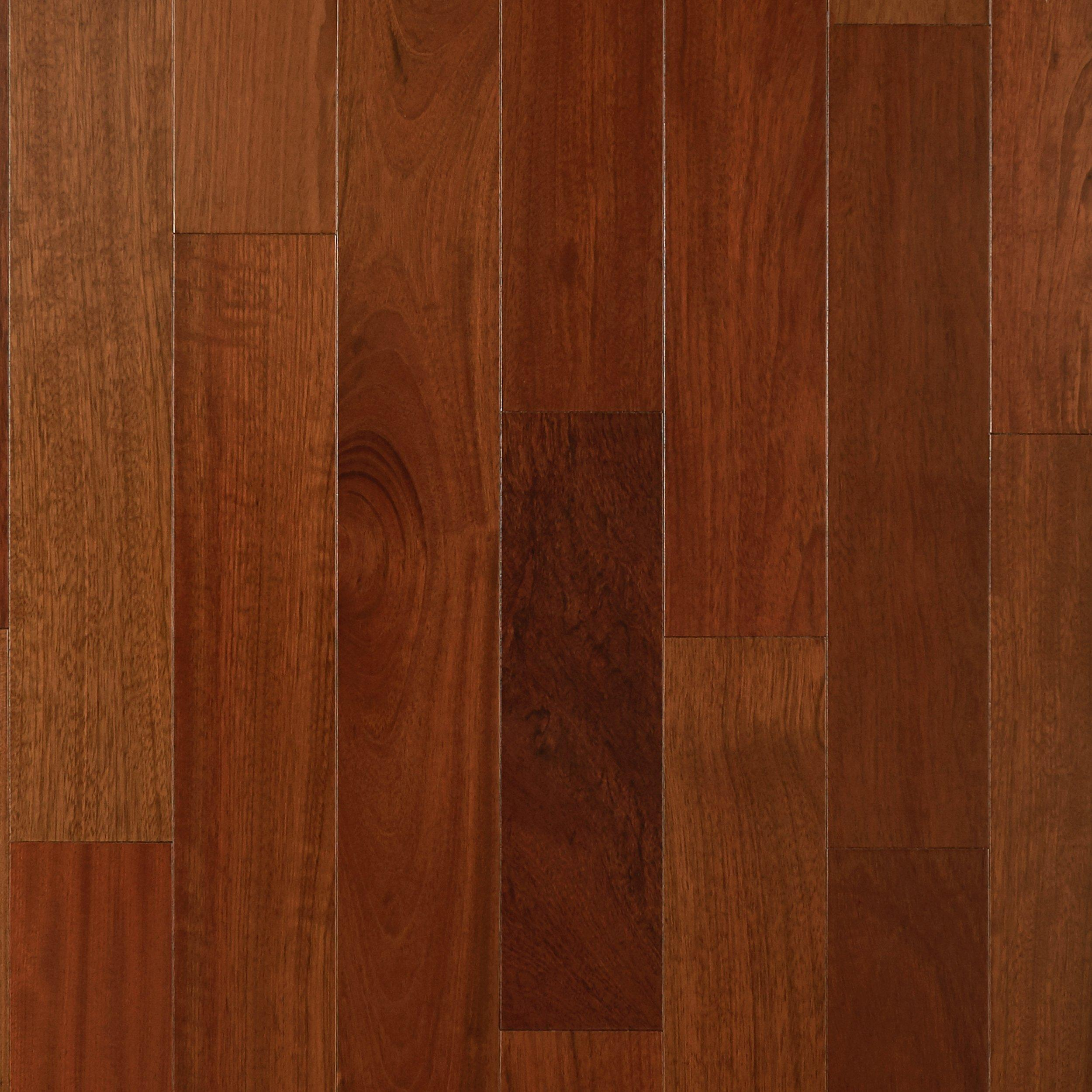 Lovely Alea Brazilian Cherry Smooth Engineered Hardwood