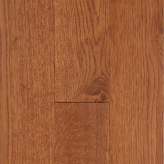 Golden Wheat Oak Wirebrushed Solid Hardwood