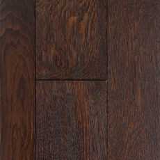 Mocha Oak Wire Brushed Locking Solid Hardwood
