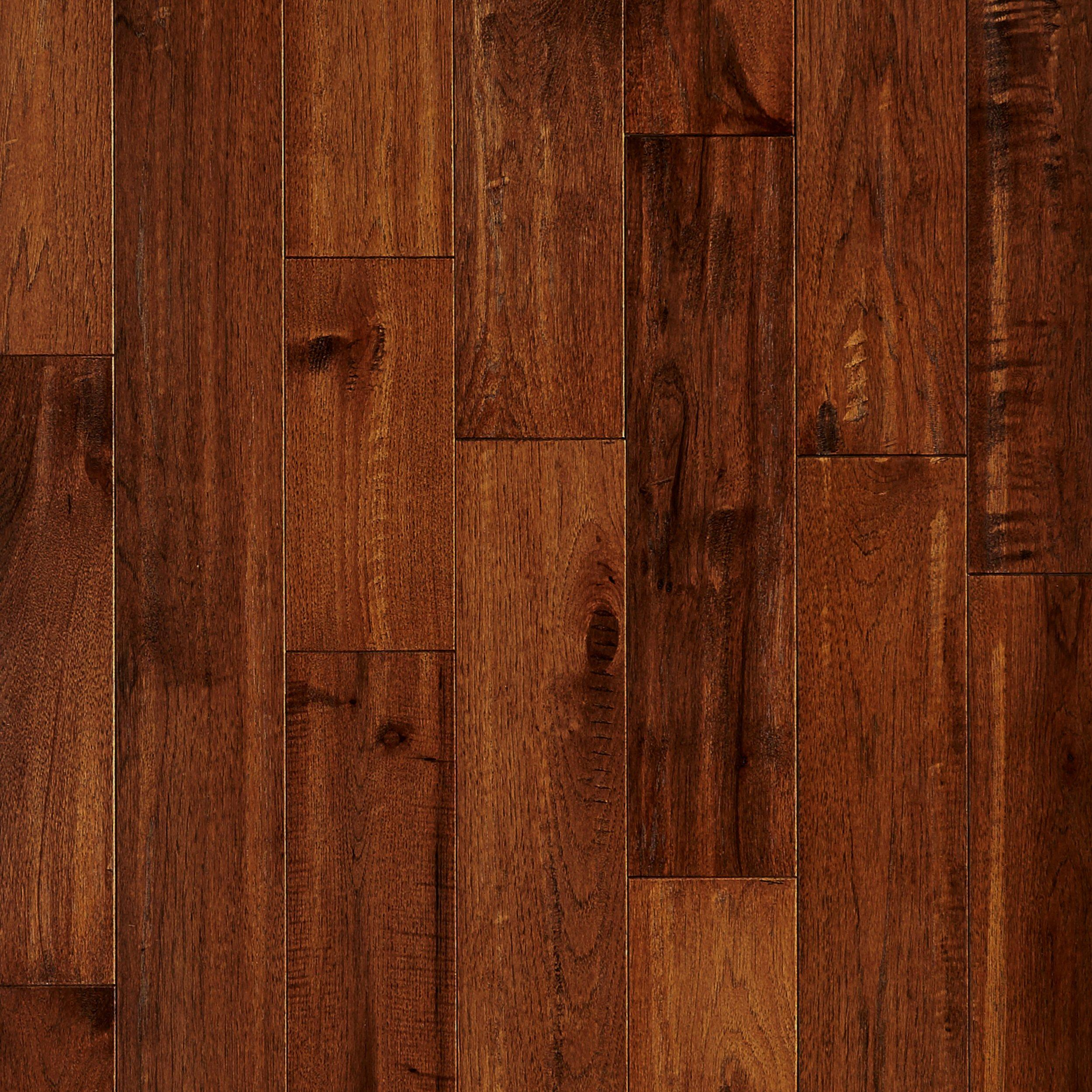Chestnut Hickory Hand Scraped Solid Hardwood 34in x 5in