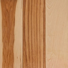 Natural Hickory Solid Hardwood