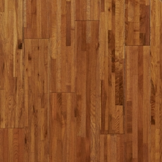 Timberclick Natural Oak Locking Solid Hardwood