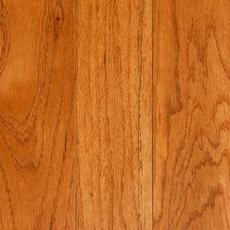 Gunstock Oak High Gloss Solid Hardwood